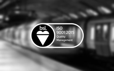 Solution Rail Retain ISO Accreditation