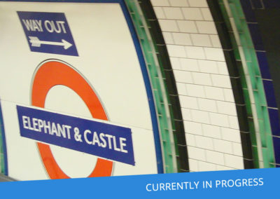 Elephant & Castle Station Capacity Upgrade (ECSCU) Tag & Trace Survey