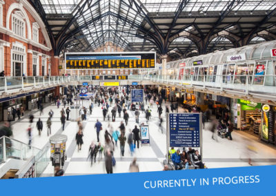 In-Station Retail – Liverpool St, Oxford Circus, North Greenwich